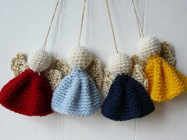 Free Thread Crochet Christmas Ornaments Patterns : 10 Free Crochet Christmas Ornament Patterns