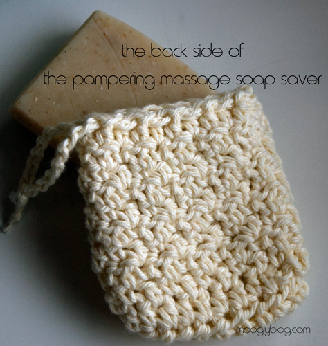 Free Crochet Patterns For Soap Bags : Free Pattern: Pampering Massage Soap Saver