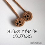 Tiny Coconut Applique