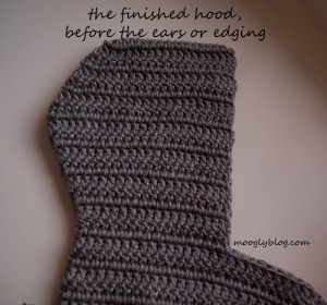 free crochet scoodies pattern