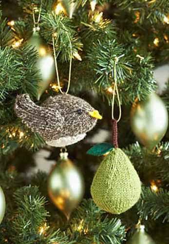 free knitted christmas tree decorations patterns  Rainforest