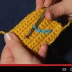 how to surface crochet slip stitch surface crochet tutorial