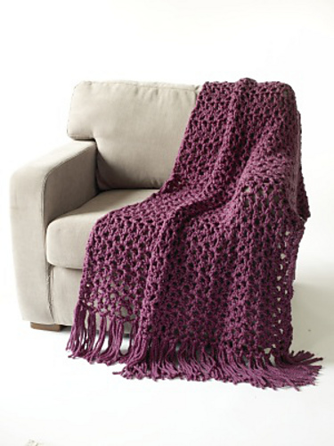 Crochet Patterns Throws : crochet patterns free patterns to crochet with a q hook crochet big ...
