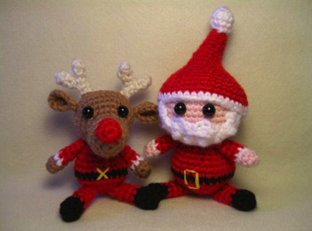 Amigurumi Santa Patterns : Get Ho Ho Hooked on Crochet Santa Patterns!