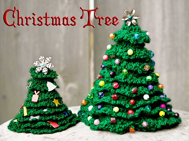 Free Crochet Patterns For Xmas Trees : free crochet christmas tree patterns free christmas tree to crochet ...