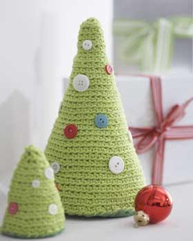 Crochet deer and Christmas tree pattern | Amiguroom Toys | 350x280