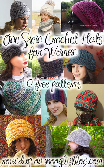 free one skein crochet hats for women free crochet patterns hats for women feminine crochet patterns