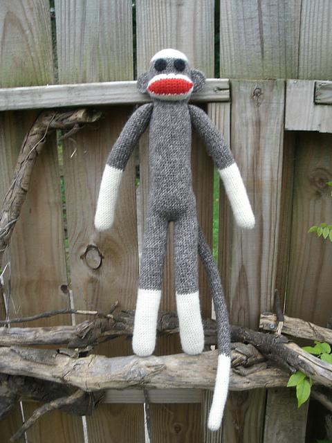 Pin Free Crochet Sock Monkey Patterns Free Crochet Sock ...