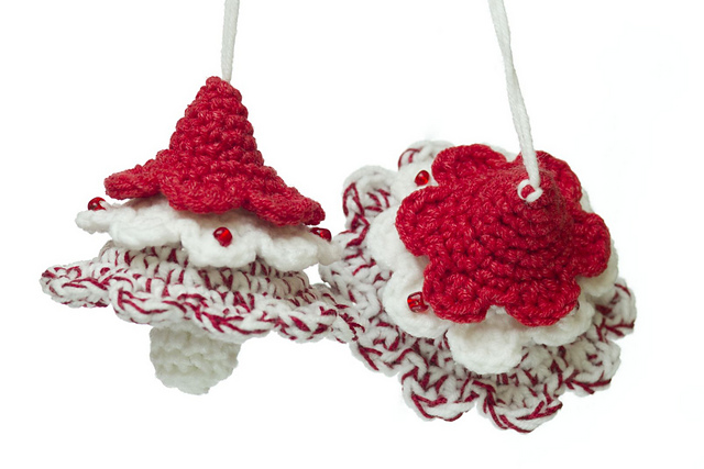 Crochet Christmas Decorations Free Patterns