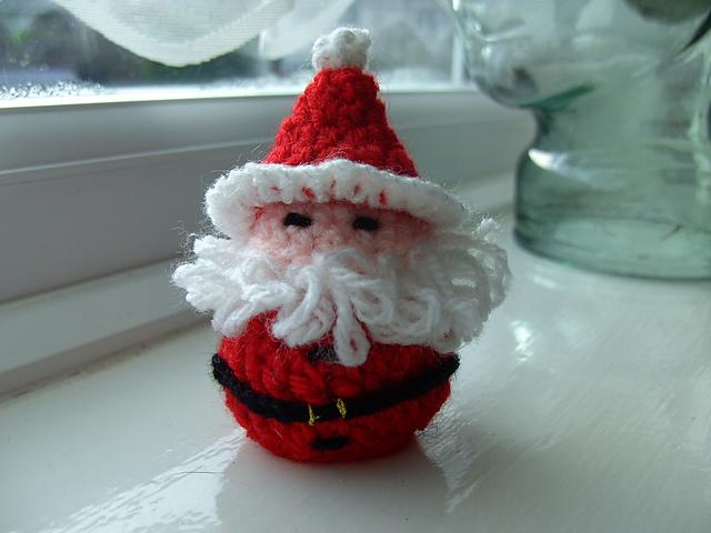 19 Free Amigurumi Christmas Santa Crochet Patterns | Haken kerst ... | 480x640
