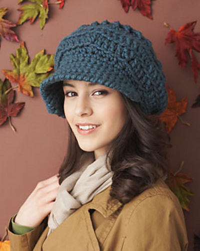 Free Crochet Pattern Womens Slouchy Hat : One Skein Crochet Hats for Women: 10 Free Patterns to Make ...