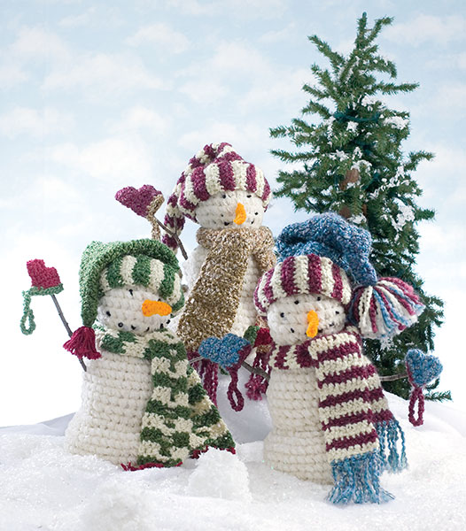 Crochet Patterns Free Snowman : Ready, Set, Snow! 10 Free Crochet Snowman Patterns