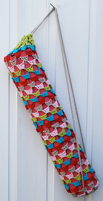 Free Crochet Pattern Yoga Mat Bag : New Year, New Free Patterns to Crochet!