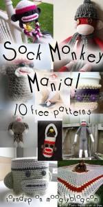 free crochet sock monkey patterns free crochet pattern sock monkey