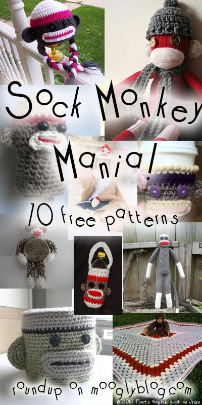 free crochet sock monkey patterns free crochet pattern sock monkey