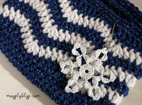 Free Crochet Chevron Purse Pattern : Free Pattern: Tasty Little Chevron Bag