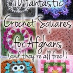 10 Fantastic New Crochet Squares for Afghans!