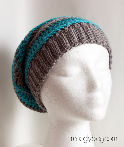 Free Crochet Pattern For Mens Slouchy Beanie : Video Tutorial: How to Make Crochet Ribbing for Brims and ...