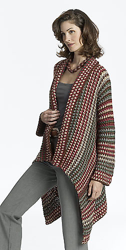 Knitting Pattern For Ladies Cardigan Bronze Cardigan