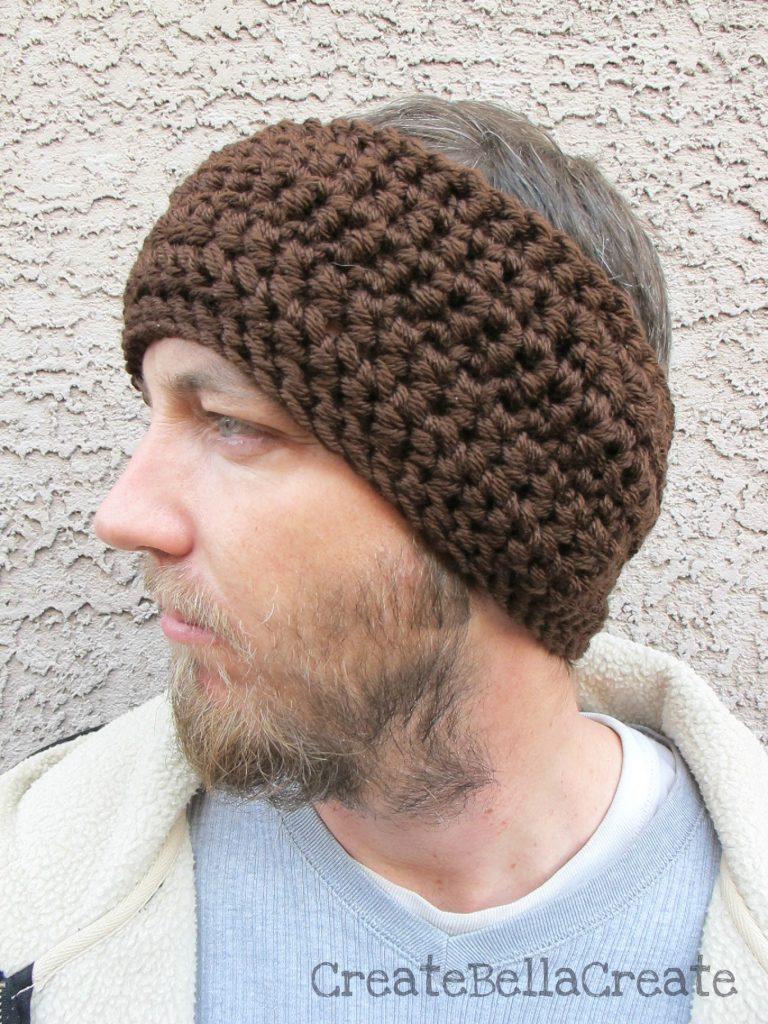 Free Crochet Ear Warmer Pattern With Button Closure Custom Design Inspiration
