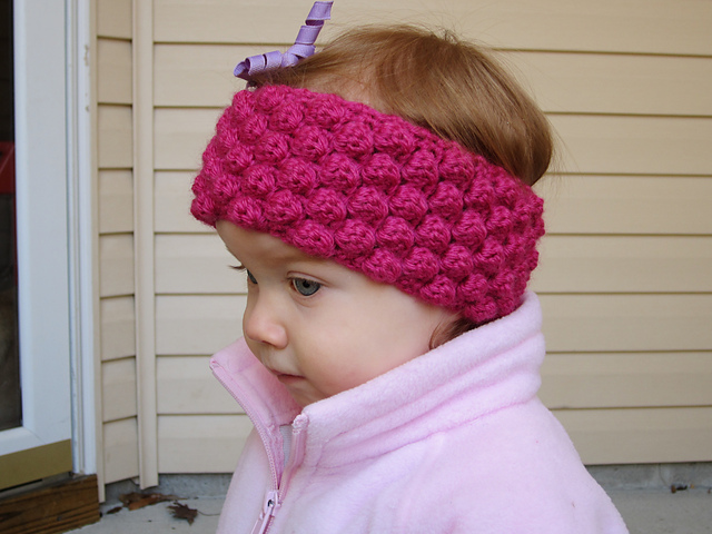 Free Crochet Ear Warmer Patterns For Adults : Crochet Ear Warmers - Fast to Make and Fun to Wear!