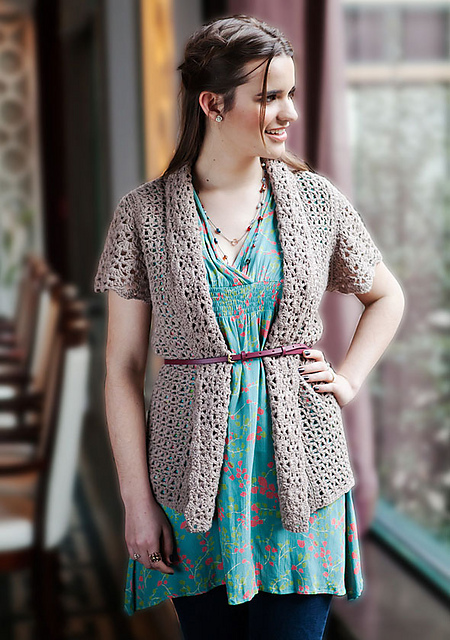 Free Crochet Patterns Ladies Cardigan : 10 Fantastic and Free Crochet Cardigan Patterns to Make ...