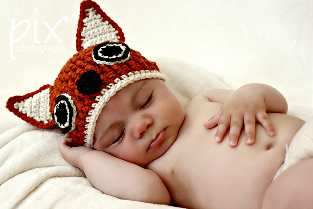 Beanie and other amazing fox crochet patterns - a great list of fox ...