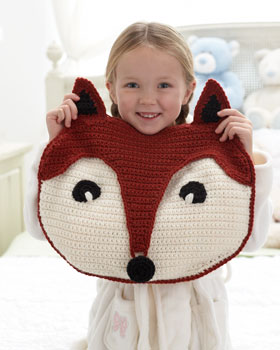 PJ Pillow and other amazing fox crochet patterns - a great list of fox ...