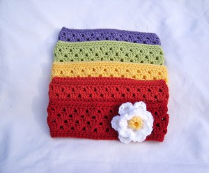 Crochet Ear Warmer / Headband | Bake with Jill