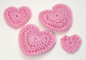 Love Hearts by PlanetJune and other Valentine's Day #crochet Patterns