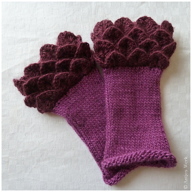 Crochet Patterns Gloves : free crochet fingerless mitts patterns wrist warmers crochet arm ...