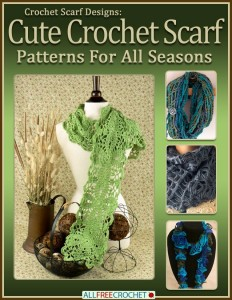 Free Crochet eBook from AllFreeCrochet - fantastic scarf patterns! #crochet