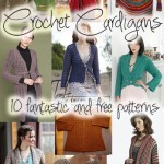 10 Fantastic and Free Crochet Cardigan Patterns
