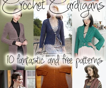 7a8f9b5abc19 10 Fantastic and Free Crochet Cardigan Patterns to Make and Wear!