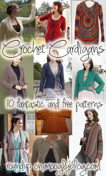 bc42d3912 10 Fantastic and Free Crochet Cardigan Patterns to Make and Wear!