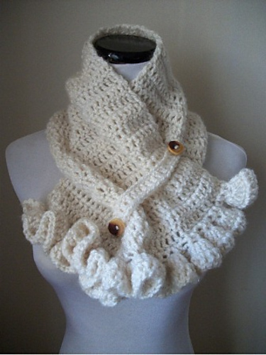 Romantic And Remarkable Free Ruffle Crochet Patterns