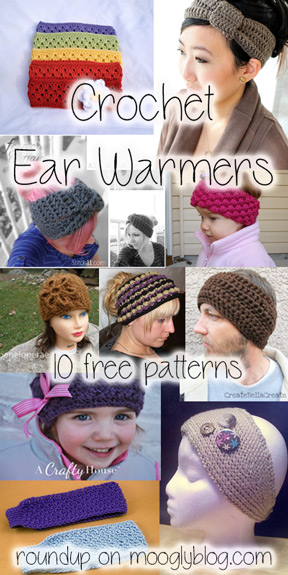free crochet ear warmer patterns free crochet headband patterns