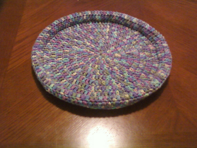 Crochet Patterns Galore - Tabby Chic Cat Bed | 480x640