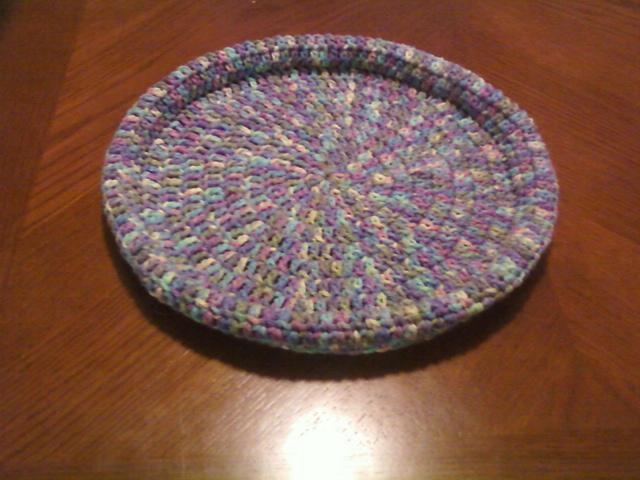 Crochet Round Cat Nest House Free Pattern - Crochet Cat House ... | 480x640