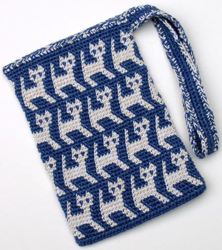 Cat Bag Knitting Pattern : Theyre the Cats Meow: Free Crochet Patterns for Cat Lovers!