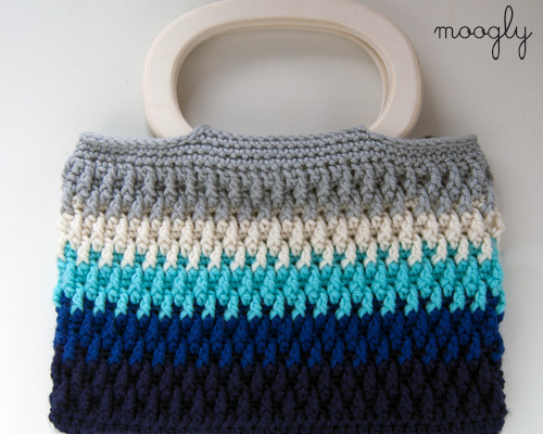Free Crochet Patterns For Purses : Crochet Bag - choose your colors and then choose your style! Free ...