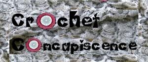 Crochet Concupiscence Official Blog Logo