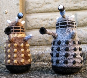 Dalek Amigurumi - free amigurumi patterns! #crochet