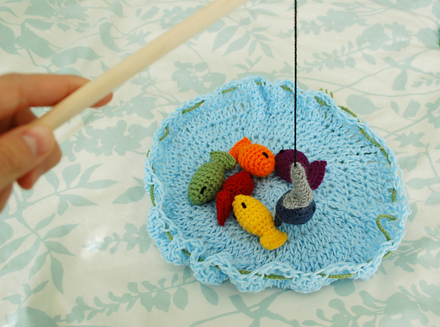 Free Online Crochet Patterns For Toys : Family Fun with Free Crochet Game Patterns!