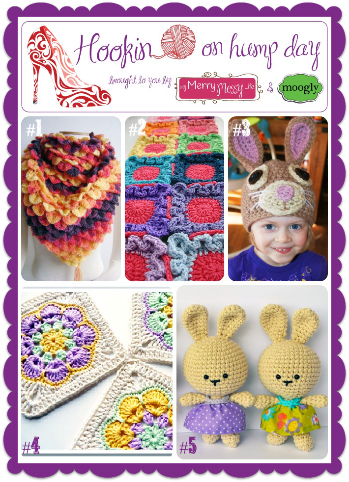 Hookin On Hump Day #33 - Link Party for the Fiber Arts - come join the fun!