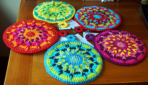 Crochet Patterns Hot Pads : Free Pattern Crochet Hot Pad - topygu81s soup
