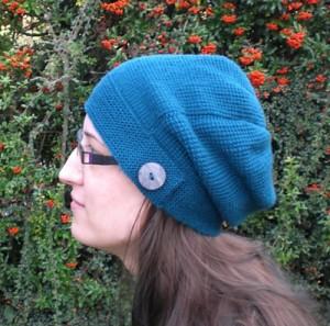 Kylie Hat - free Tunisian Crochet pattern!