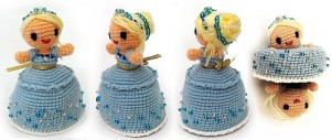 Magic Cinderella - amazing free amigurumi patterns! #crochet