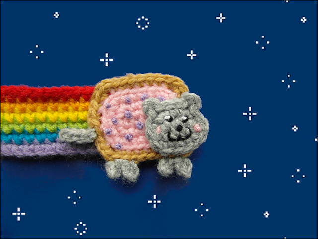 Nyan Cat Amigurumi Free Pattern : Theyre the Cats Meow: Free Crochet Patterns for Cat Lovers!