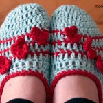 Pozy Toes Crochet Slippers